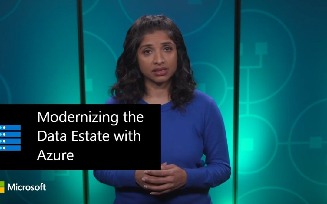 Modernizing the Data Estate with Azure | Rachita Sundar