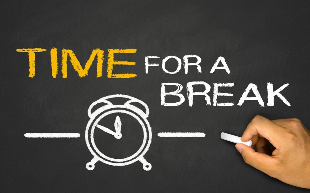 Stop Reading this Blog Post and Take a Break!